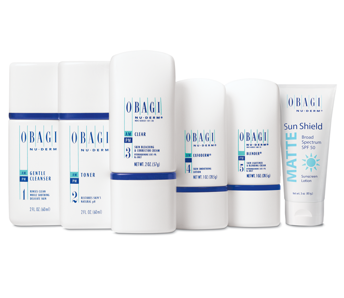 Obagi Nu Derm Trial Kit Normal Dry Skinsolutions Md